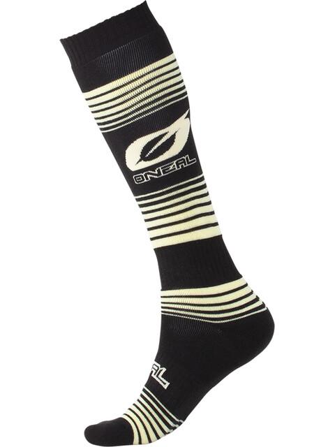 ONeal Pro MX Socks Stripes black/yellow